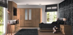 Duleek Odessa Oak Bedroom